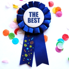 the best award ribbon