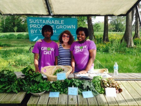 The Grow Dat farm stand in City Park lets you support the organization directly by purchasing their produce. (Photo via Grow Dat Youth Farm on Facebook)