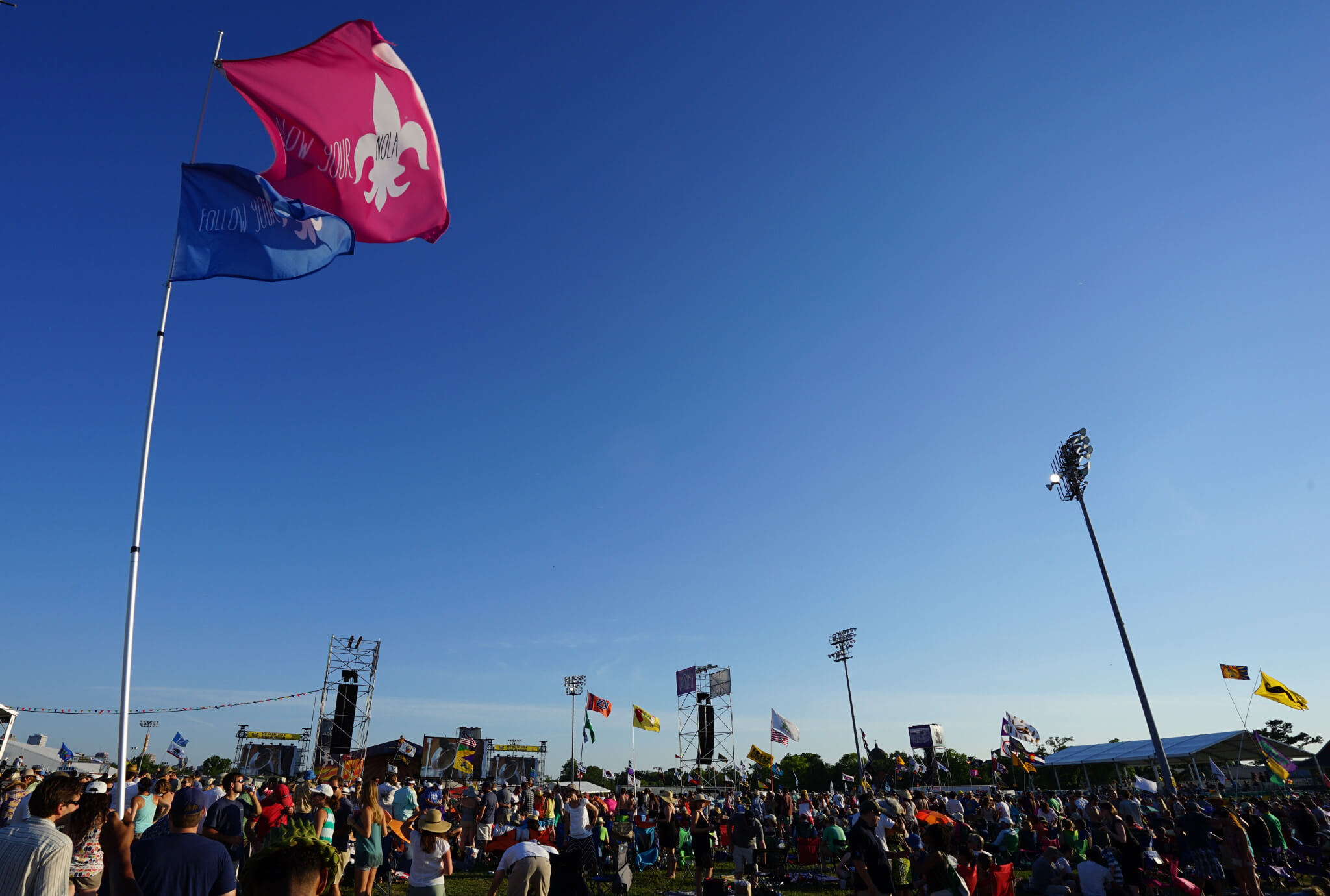 Jazz Fest is one of many festivals that impacts our economy. (Photo: Paul Broussard)