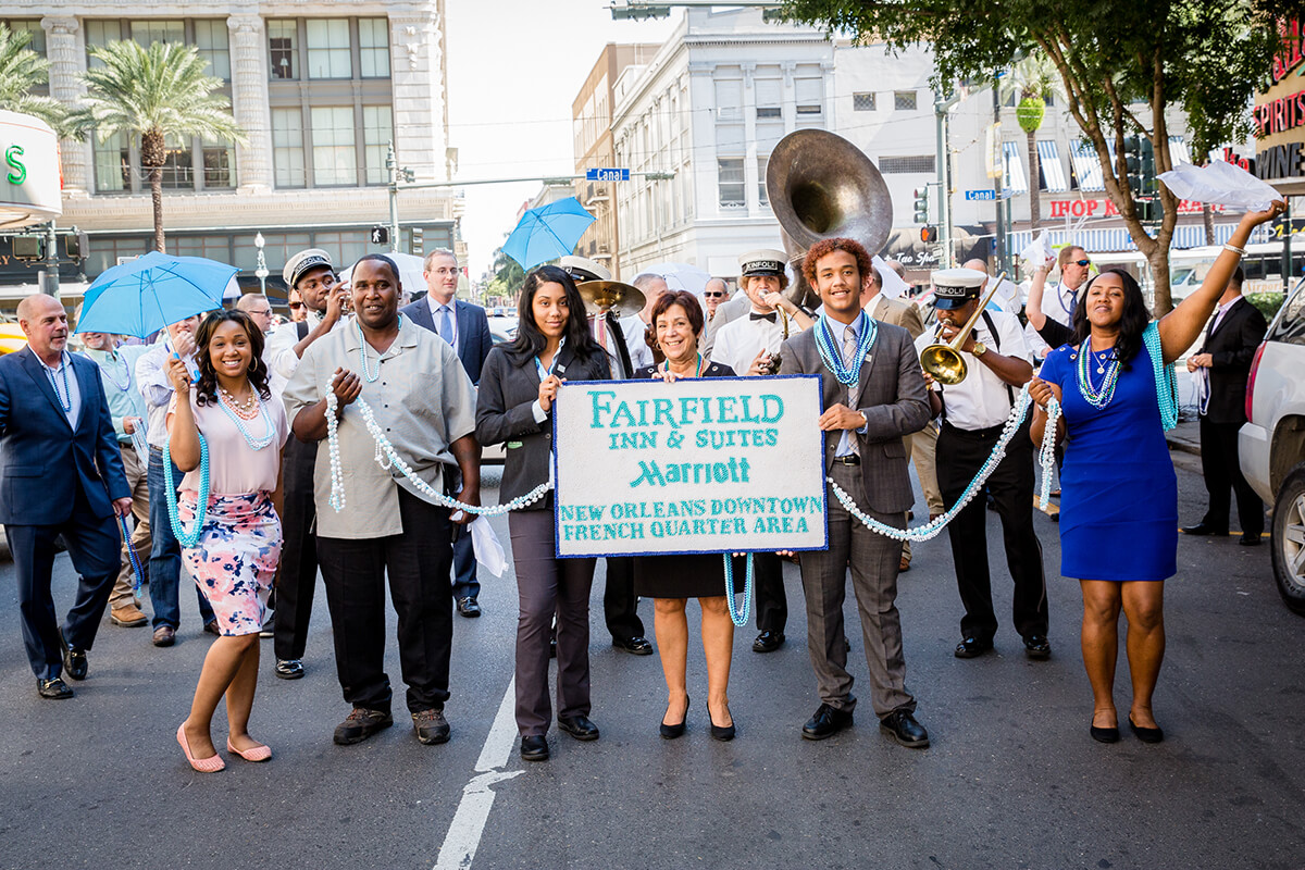 Fairfield Inn Opening 3937